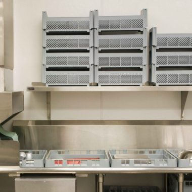 Organised Commercial Kitchen